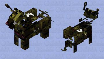 Weird mule Minecraft Mob Skin