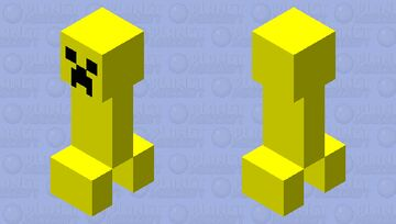 Honey Creeper Minecraft Mob Skin