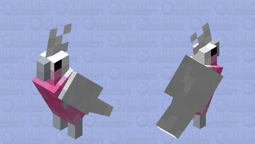 rose-breasted cockatoo Minecraft Mob Skin