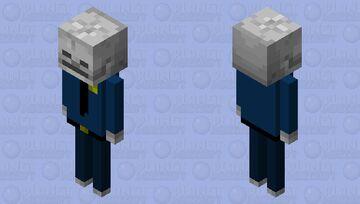 Police Officer No-Skin Minecraft Mob Skin