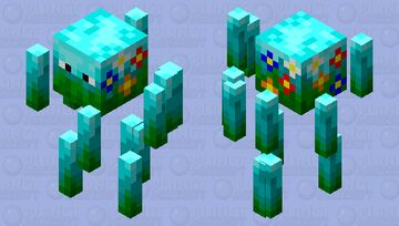 A Blaze But Is Has Become One With Nature Minecraft Mob Skin