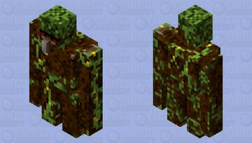 Tree Golem Minecraft Mob Skin