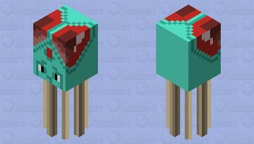 Tentacool - Pokémon Red & Blue Minecraft Mob Skin