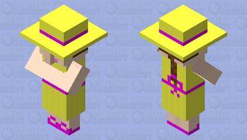 Summer Sunshine Villager Minecraft Mob Skin