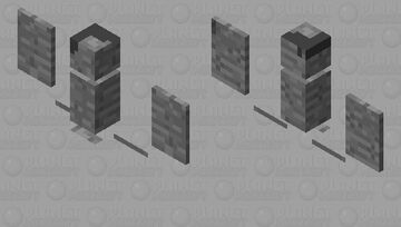 Mr fangs is a stone mwahaha Minecraft Mob Skin