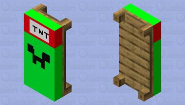 Creeper Bed (REMASTERED) Minecraft Mob Skin