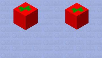 flying apple Minecraft Mob Skin