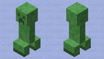 cleaner creeper Minecraft Mob Skin
