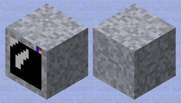 space helmet (shulker box) Minecraft Mob Skin