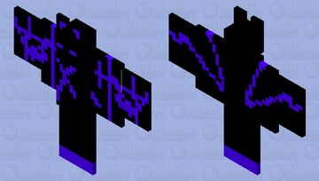 ENDER BAT Minecraft Mob Skin