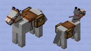 giant rideable wolf# wired Minecraft Mob Skin