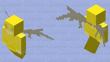 Yellow Dude Minecraft Mob Skin