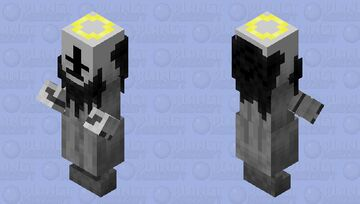 Jebus or The Savior / Version 1 / From: madness combat / remade Minecraft Mob Skin