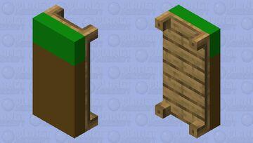 Grass Bed Minecraft Mob Skin