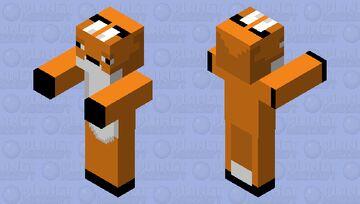 Zombie Fox Minecraft Mob Skin