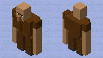 villager golem Minecraft Mob Skin