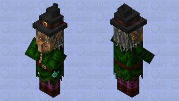 Realistic nice witch Minecraft Mob Skin