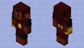 Selfish Piglin Brute (𝕱𝖔𝖗𝖇𝖎𝖉𝖉𝖊𝖓 𝕾𝖔𝖚𝖑𝖘) Minecraft Mob Skin
