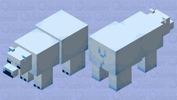 Moosh Polar Bear Minecraft Mob Skin