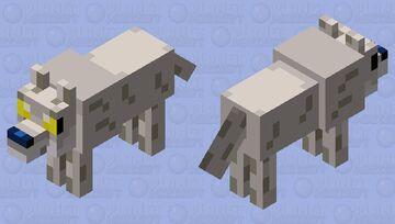 Agario Coyote Minecraft Mob Skin