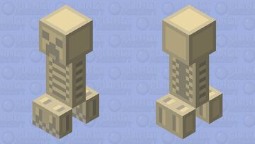 Skeleton Connor Creeper (HALLOWEEN SERIES) Minecraft Mob Skin