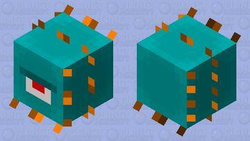 A Guardian... Minecraft Mob Skin
