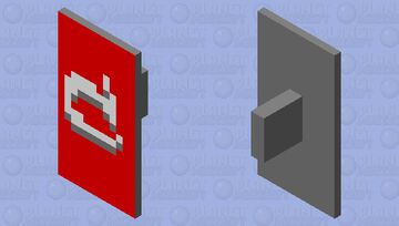Mojang Old Logo Shield 1.15 version Minecraft Mob Skin