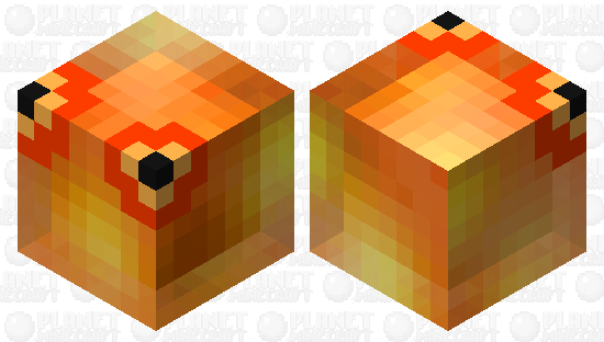 Fire Chuchu (Breath of The Wild) Minecraft Skin