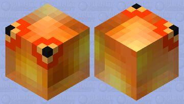 Fire Chuchu (Breath of The Wild) Minecraft Mob Skin