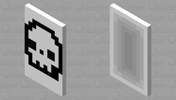 Skull Rave cape! Minecraft Mob Skin