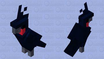palm cockatoo Minecraft Mob Skin