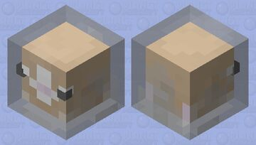 Hampsters are scary Minecraft Mob Skin