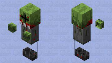 Zombie Grunt Minecraft Mob Skin