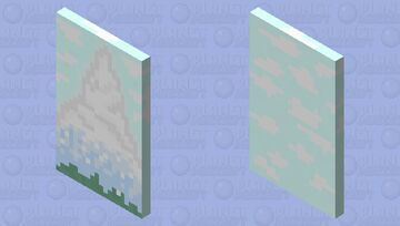 MOUNTAIN(CAPE)! Minecraft Mob Skin