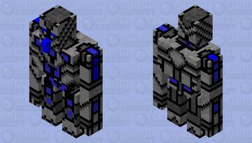 Robotic golem Minecraft Mob Skin