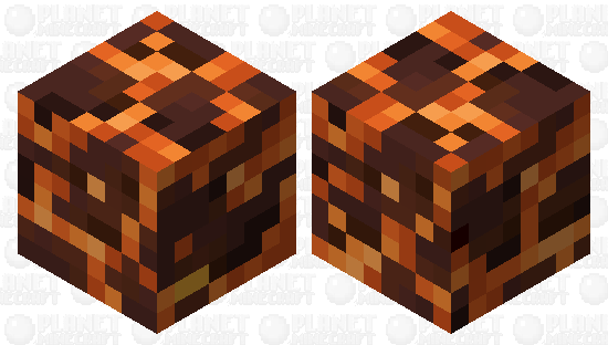 Magma Block Magma Cube Minecraft Skin