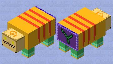 Parasite Cage Stage 2 (Kingdom Hearts 1) Minecraft Mob Skin