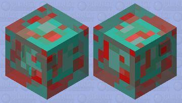 Strangely glitch Minecraft Mob Skin