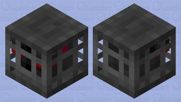 Caged animal Minecraft Mob Skin
