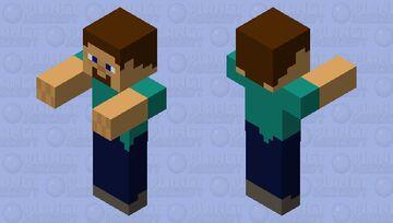 Steve husk Minecraft Mob Skin