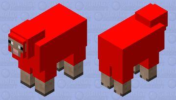 Corrupt Sheep Minecraft Mob Skin