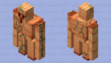 copper golem with weathering Minecraft Mob Skin