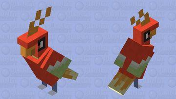 Smol Ho-Oh (Pokemon) Minecraft Mob Skin