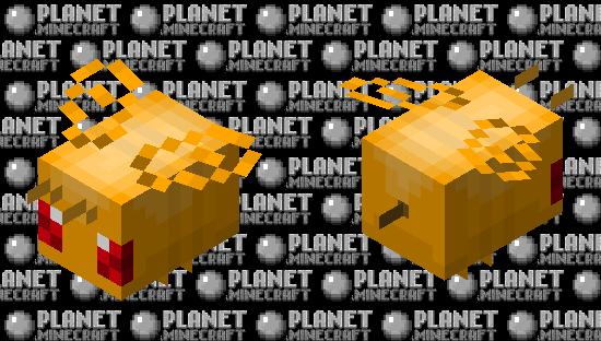 honeybee (Angry) Minecraft Skin