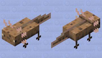 Rainbow pastel cookielotl Minecraft Mob Skin