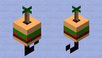 burger Minecraft Mob Skin