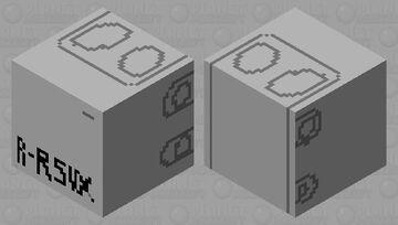 Rosie Cable MDU RSVX box Minecraft Mob Skin