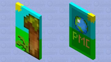 PMC One Year Member Cape Minecraft Mob Skin