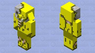 Golden Zombified Piglin Minecraft Mob Skin
