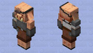 Piglin Rebel Minecraft Mob Skin